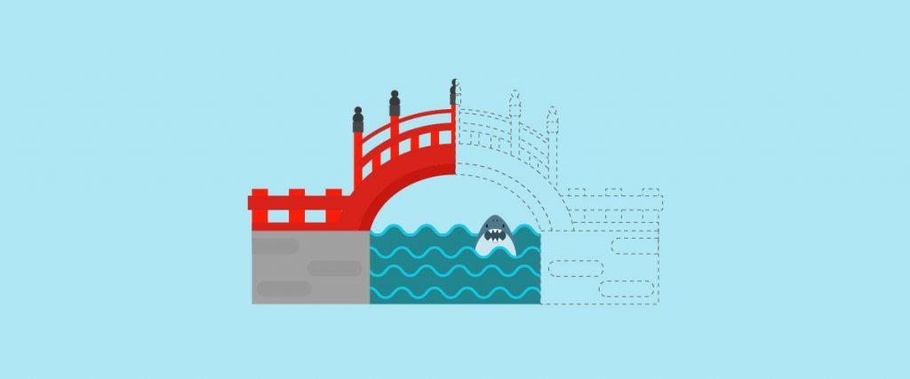 half built bridges are killing your ecommerce experience